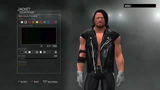 WWE 2K17 Superstar Threads:AJ Styles 2017(XBOX 360/PS3)