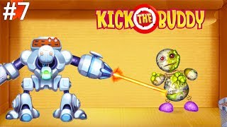 Kick the Buddy | Fun With All Weapons VS The Buddy #7 | Android Games 2019 Gameplay | Friction Games