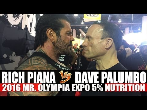 PIANA vs PALUMBO At The 2016 Mr.Olympia! 5% Nutrition!