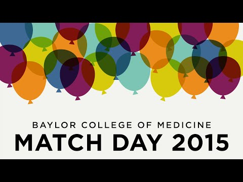 Highlights and speeches from Baylor College of Medicine Match Day 2015