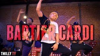 Cardi B - Bartier Cardi - Choreography by Nicole Kirkland | #TMillyTV Ft. Dana Vaughns