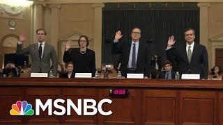 Legal Experts Emphasize Stakes Of Impeachment For Nation's Future | Rachel Maddow | MSNBC