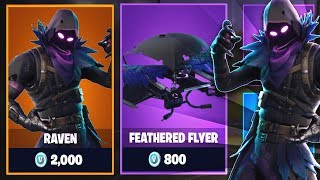 BUYING *NEW* RAVEN SKIN in Fortnite: Battle Royale! | #SoaRRC