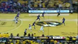 #8 Kansas @ #4 Missouri 2-4-12 (Full Game)