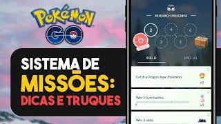 DOMINE O O SISTEMA DE MISSÕES DO POKÉMON GO!