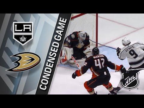 03/30/18 Condensed Game: Kings @ Ducks