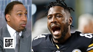Stephen A. calls out Antonio Brown for treatment of Mike Tomlin, Steelers | Get Up!