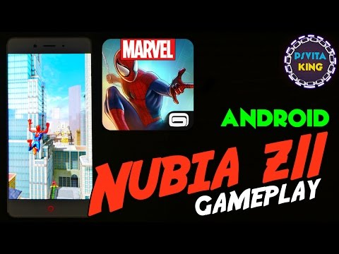 MARVEL Spider-Man Unlimited Android/Nubia Z11/Snapdragon 820 Gameplay & Review