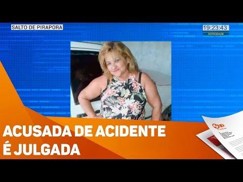 Acusada de acidente é julgada - TV SOROCABA/SBT