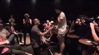 "Epic Movie Theater Wedding Proposal - ""Soncrant No More"""