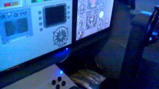 Ту-154 Пулково (Работа освещения верхней приборной панели)(, 2014-04-22T09:12:56.000Z)