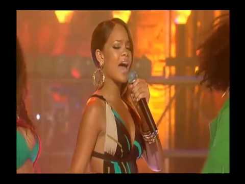 Rihanna - Pon de Replay (Live at CD UK)
