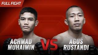 [HD] Achmad Muhaimin vs Agus Rustandi || One Pride FN #30