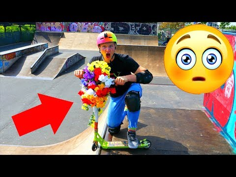 THE DEADLY FLOWER SCOOTER!!!