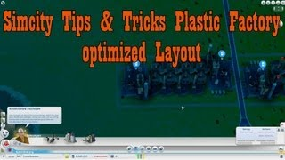 Simcity Tips & Tricks - Plastic Factory