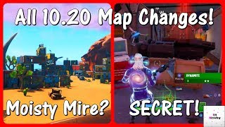 *NEW* ALL 10.20 Update Map Changes! (v10.20 Patch) | Fortnite