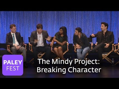 The Mindy Project - The Cast on Breaking Character