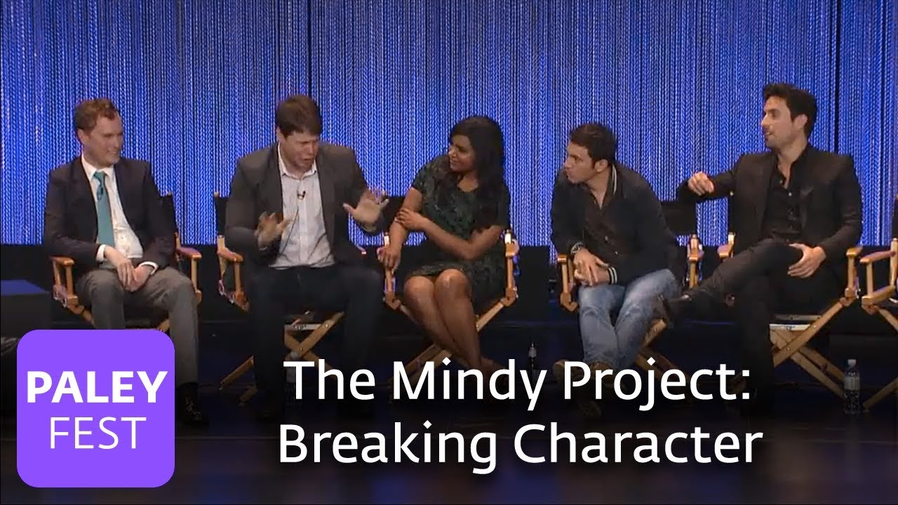 Download The Mindy Project - The Cast on Breaking Character