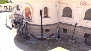 Храм святителя Николая в Камышовой бухте пополнил свою коллекцию якорей