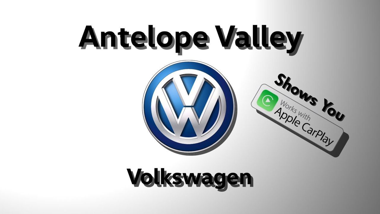 antelope valley volkswagen shows you apple carplay youtube youtube