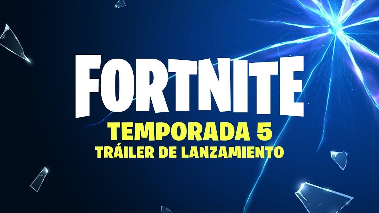 Fortnite temporada 5 tr iler de lanzamiento youtube for Fortnite temporada 5 sala