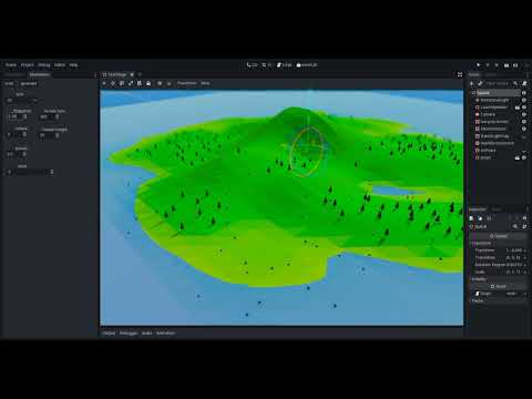 Godot procedural generation test