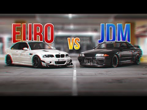 R32 Skyline vs E46 M3 - JDM vs EURO - YouTube