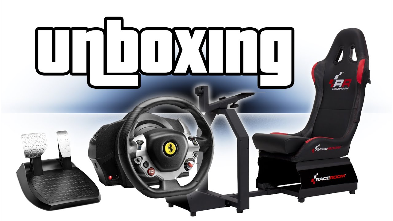 thrustmaster tx lenkrad rr3033 sitz unboxing youtube. Black Bedroom Furniture Sets. Home Design Ideas