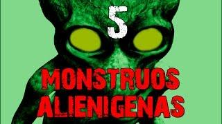5 Monstruos alienigenas escondidos en la tierra