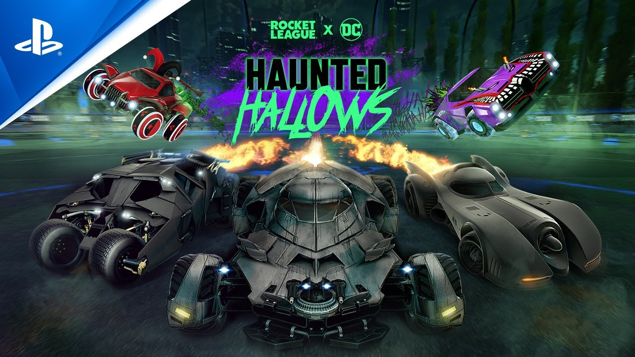 Tráiler de Batman en Haunted Hallows 2021 de Rocket League | PS4