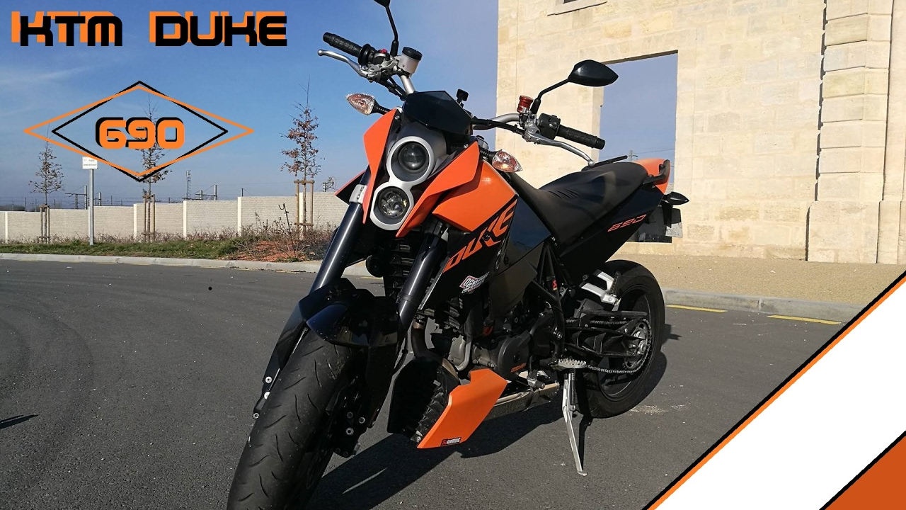 fr new moto ktm 690 duke test a2 a braam braam bordeaux gav moto youtube. Black Bedroom Furniture Sets. Home Design Ideas