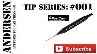 tip 001 fastcap long nose pattern marker