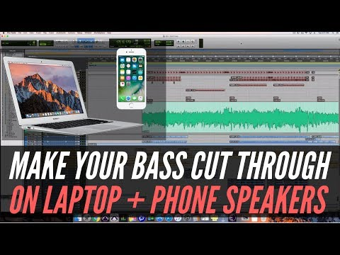 Mixing Bass To Cut Through On Laptop + Phone Speakers – RecordingRevolution.com