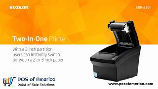 Bixolon srp 330ii 3 inches autocutter pos of america