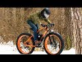 2х2 full wheel drive electric fatbike! Ice and snow!