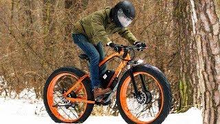 2х2 full wheel drive electric fatbike! Ice and snow!