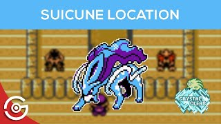 Pokemon Crystal Clear - How to get Suicune