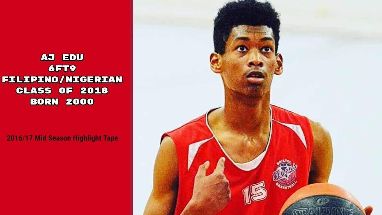 Download AJ Edu (Born 2000) Filipino-Nigerian  Mid-season Highlights 2016-17