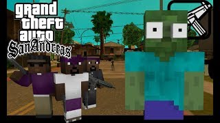Monster School : GTA San Andreas Challenge - Minecraft / Roblox Animation