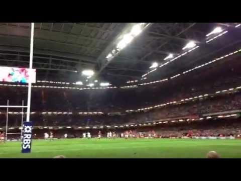 And we were singing Hymns and Arias (Wales v England 16/03/2013)