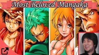 Top 10 Most Beloved Mangaka of 2015