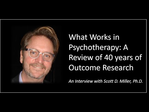 What Works in Therapy?  A Provocative Look at 40 Years of Outcome Research