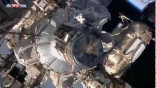 مهمة ماراثونية في الفضاء