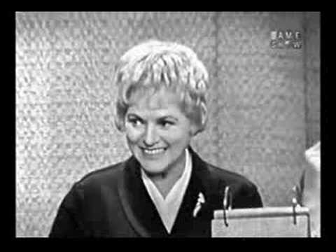 Judy Holliday's last television appearance.