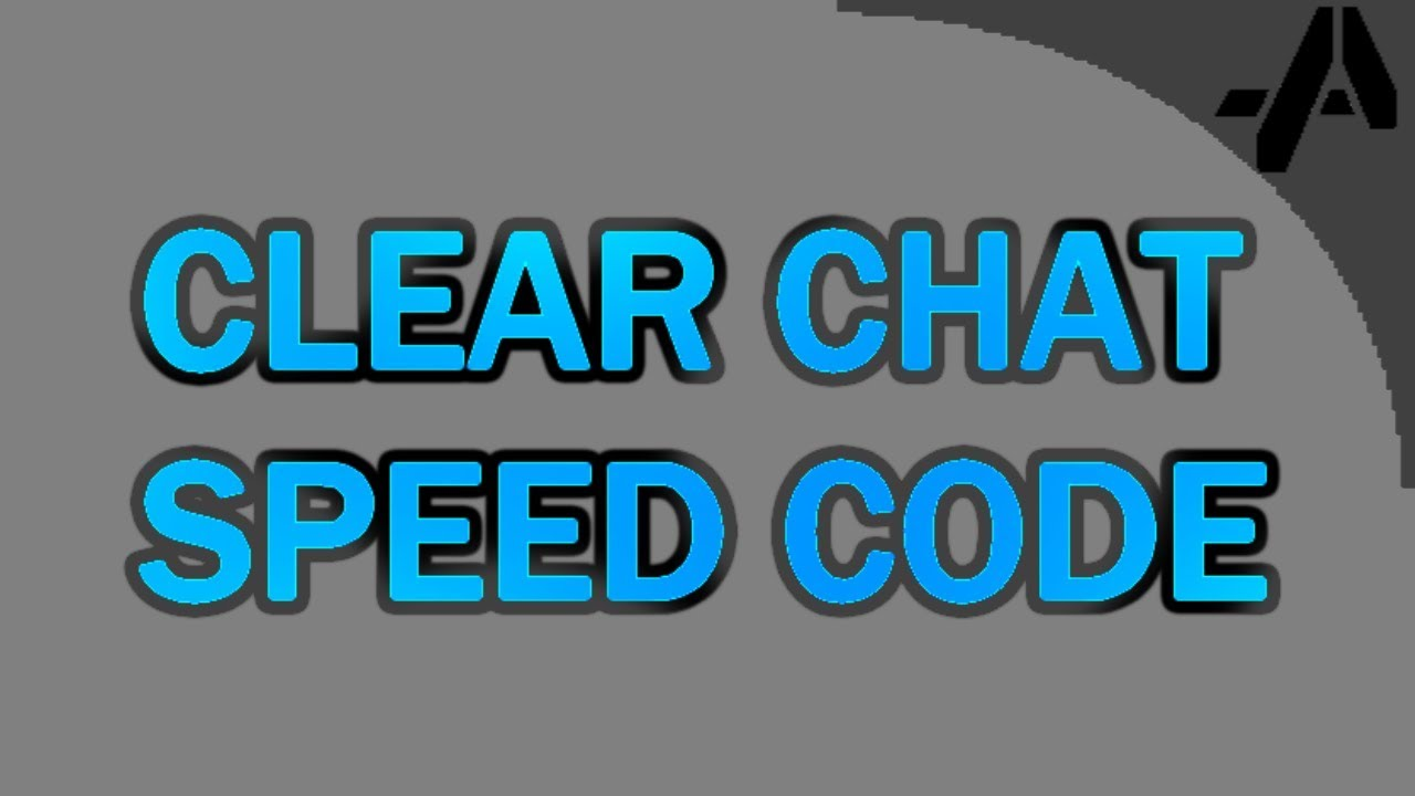 Minecraft - Clear Chat Command [Speed Code]