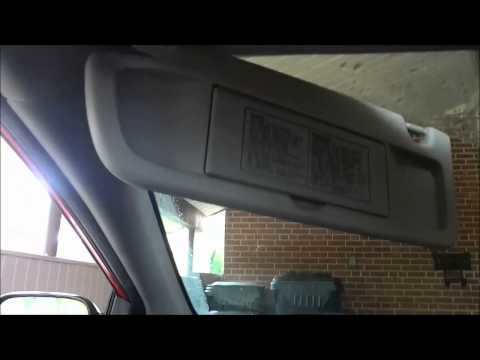 How to repair a 2006-09 Honda Civic visor | Doovi