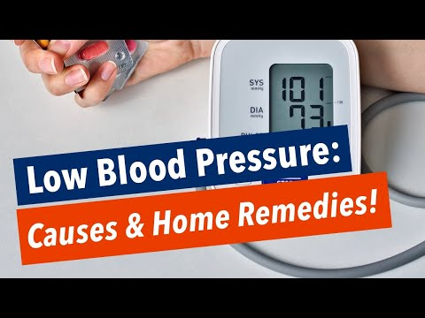 concerns-with-low-blood-pressure---causes-&-home-remedies