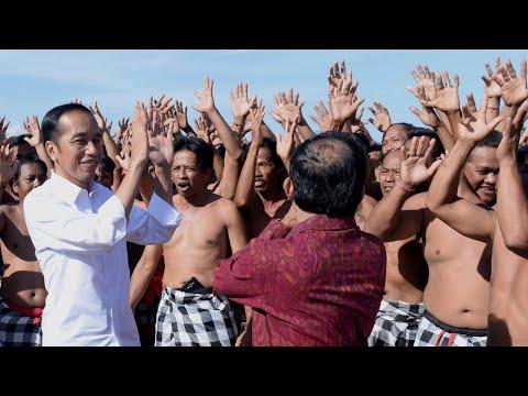 ke-bali,-presiden-jokowi-meninjau-program-dana-desa,-badung,-17-mei-2019