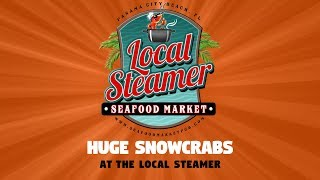 HUGE Snow Crab Sale - Local Steamer Seafood Market in Panama City Beach, Florida
