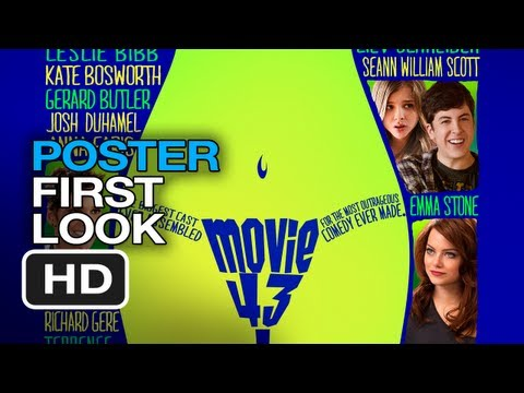 Movie 43 - Poster First Look (2013) Emma Stone, Anna Faris, Hugh Jackman Movie HD